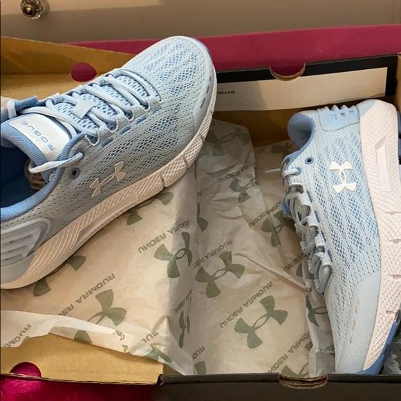 Under Armour Shoes   Light Blue Ua W